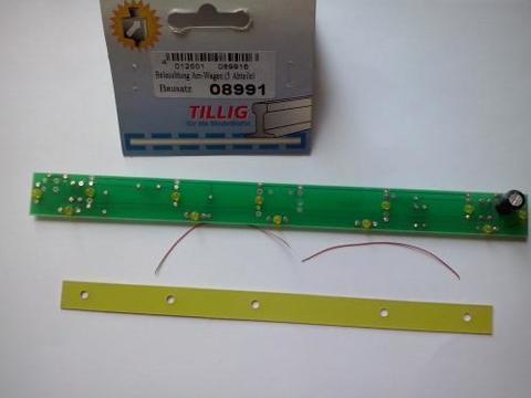 Освещение вагонов BS Beleuchtung Am-Wg 08991