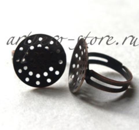 Основа для кольца (раздвижная), под медь
