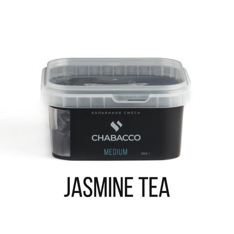 Кальянная смесь Chabacco Medium - Jasmine Tea (Жасминовый Чай) 200 г