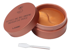 Патчи для глаз с пептидами и экстрактом красного женьшеня Peptides Аnd Red Ginseng Premium Eye Patch