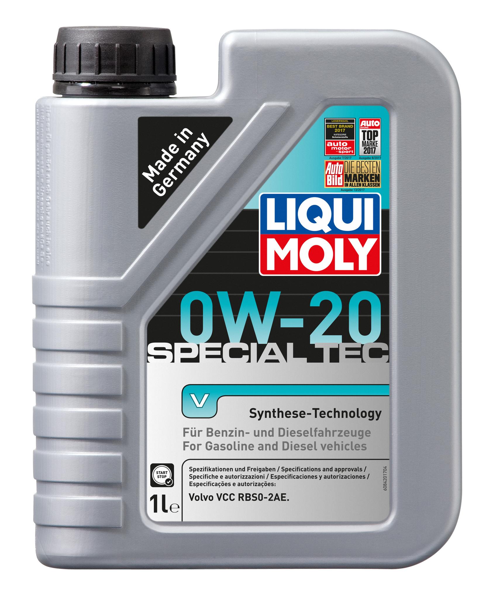 Liqui Moly Special Tec V 0W20 НС-синтетическое моторное масло
