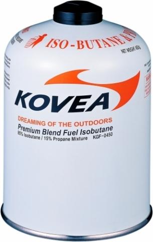 Картинка баллон Kovea для газовой горелки 450 (изобутан/пропан 70/30)