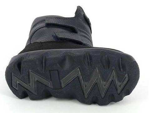 Зимние ботинки, цвет баклажан, Тотто (ТРК ГагаринПарк)