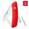 Швейцарский нож SWIZA D02 Standard, 95 мм, 6 функций, красный
