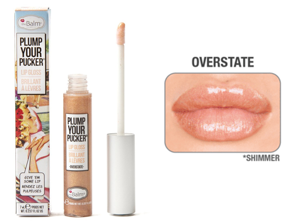 Блеск для губ The Balm Plump Overstate