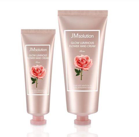 Набор Успокаивающих Кремов Для Рук С Экстрактом Розы JM SOLUTION Glow Luminous Flower Hand Cream Rose Set