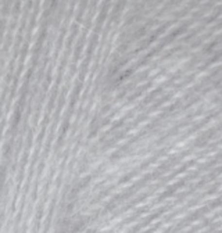 Пряжа Angora real 40 Серый 21 Alize