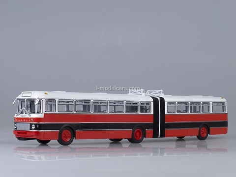 Ikarus-180 Bulgaria red-black Soviet Bus 1:43