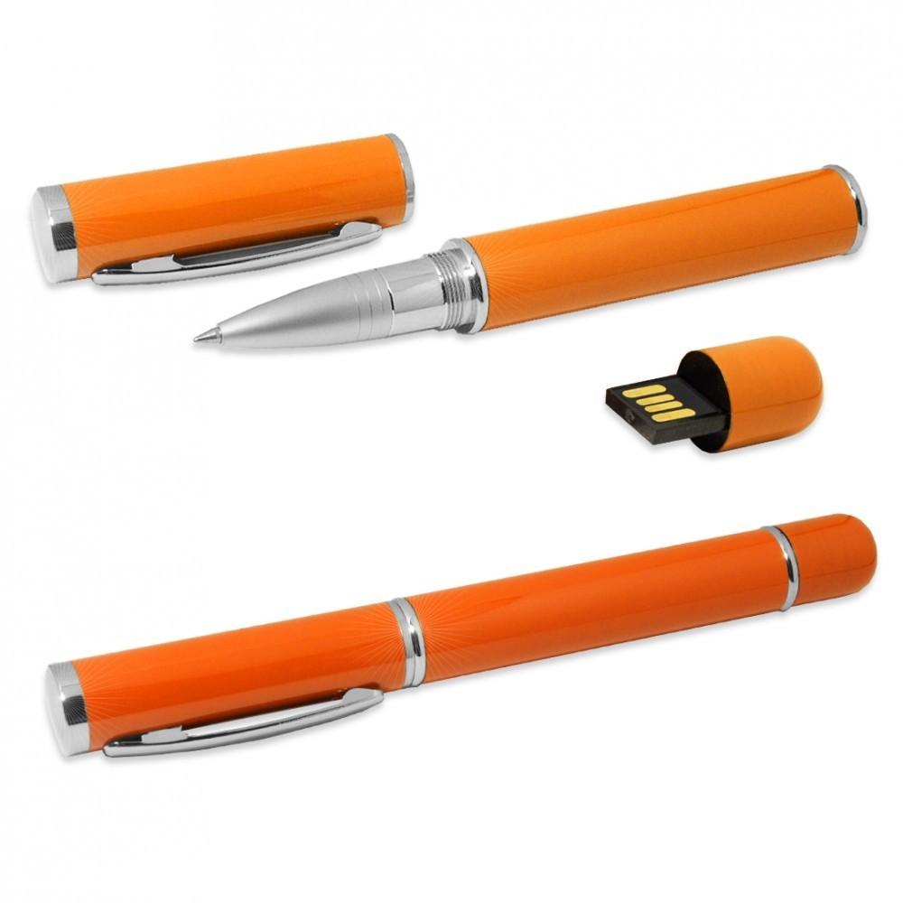usb-флешка металлическая ручка классика