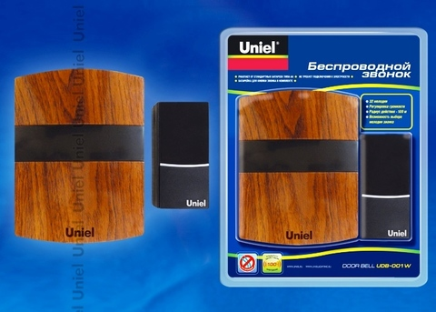 Uniel Звонок UDB-001W-R1T1-MB