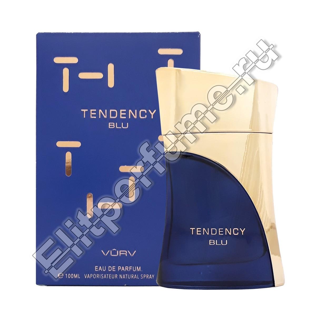 Tendency Blu u EDP 100  мл спрей от Vurv Вурф