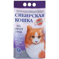 Наполнитель для кошачьего туалета, Сибирская Кошка Прима