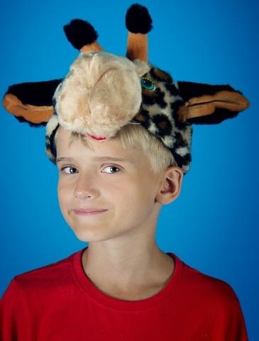 Карнавальная шапочка Жираф