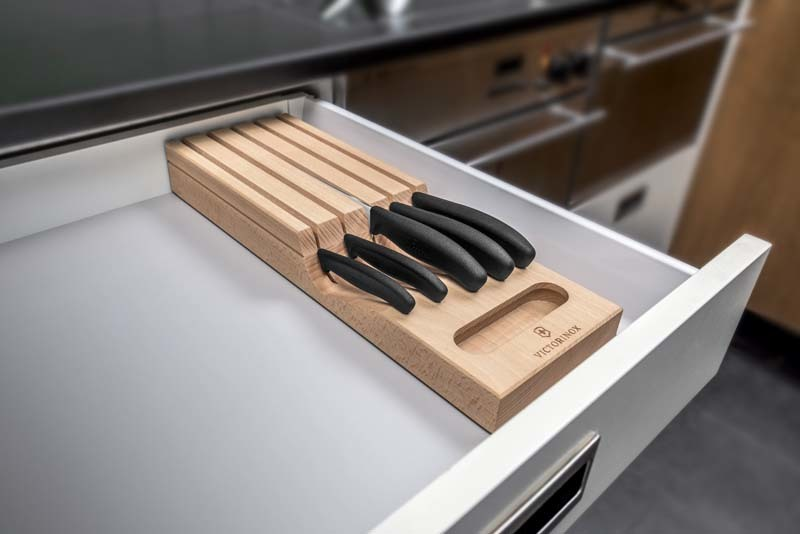 Набор из 5-ти кухонных ножей Victorinox в подставке (6.7143.5)