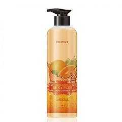 Deoproce Healing Mix & Plus Body Cleanser Lime Citrus - Гель для душа лимон и цитрус