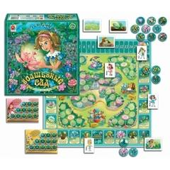 Дивный сад. (Настольно-печатная игра с игровым полем и фишками)