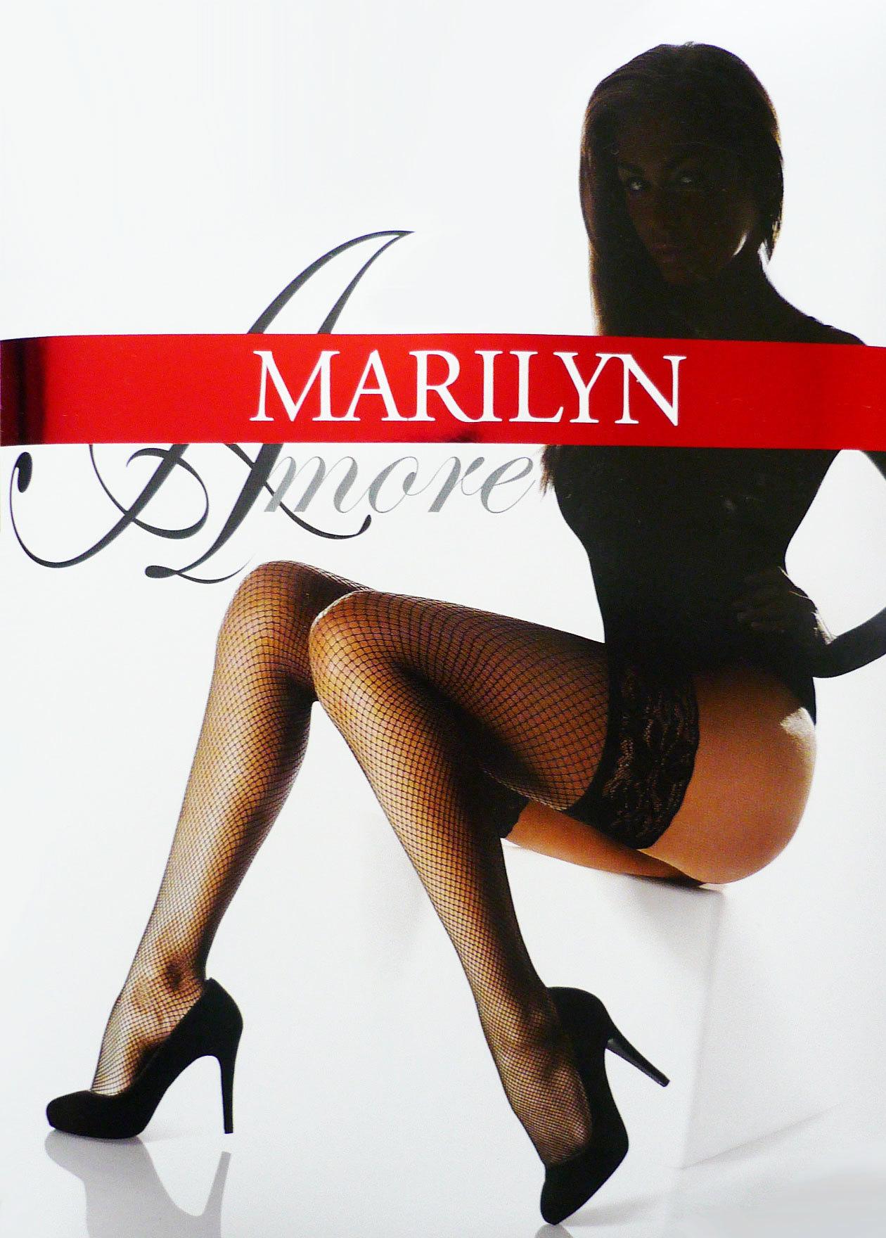 Чулки Marilyn Amore Kabaretki