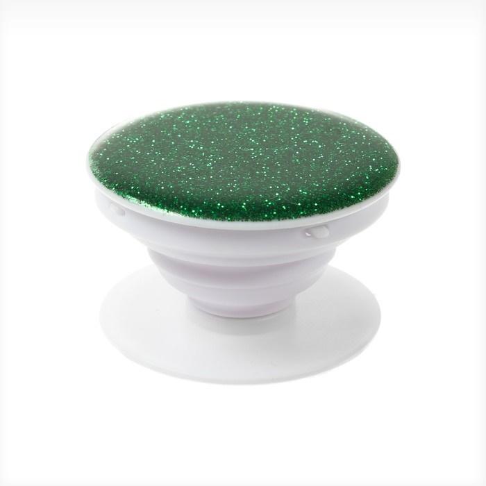 Попсокет держатель для телефона на палец зеленый фото