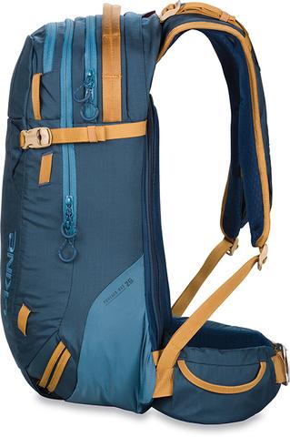 Картинка рюкзак горнолыжный Dakine Poacher Ras 26L Black