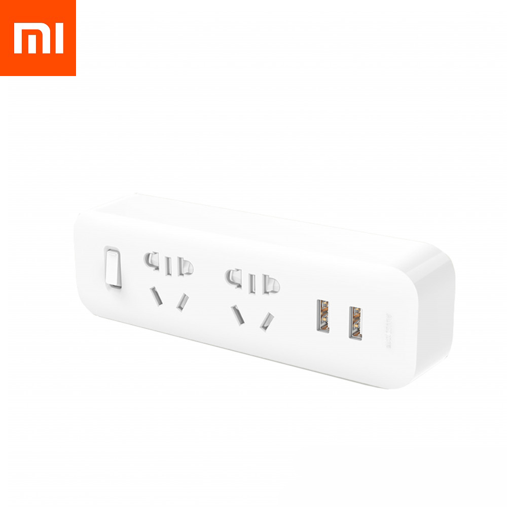 Разветвитель Xiaomi Mi Power Strip (2 розеток, 2 USB)
