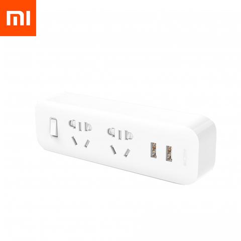 Разветвитель Xiaomi Mi Power Strip (2 розеток, 2 USB)