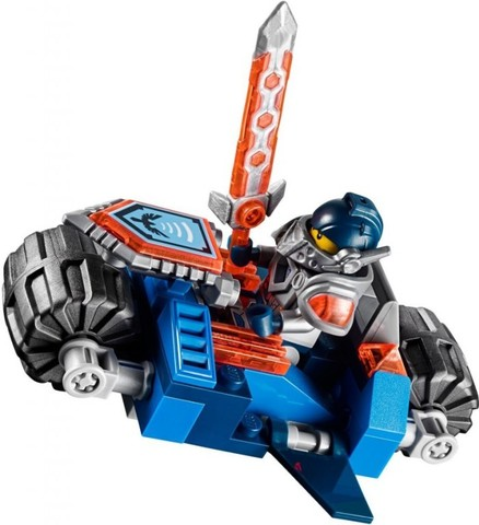 LEGO Nexo Knights: Фортрекс - мобильная крепость 70317 — The Fortrex — Лего Нексо Рыцари