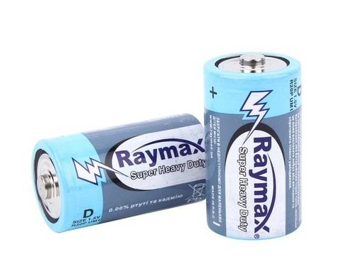 Батарейки Raymax R20, D (2/24)