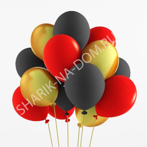 Облако из шаров Облако из черно-золотых и красных шариков Облоко_из_чёрных__золотых_и_красных_шаров.jpg
