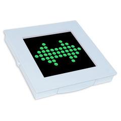 Динамический световой оповещатель стрелка МИНИ-12 ДИН1