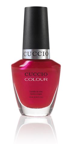 Лак Cuccio Colour, Red lights in Amsterdam, 13 мл.