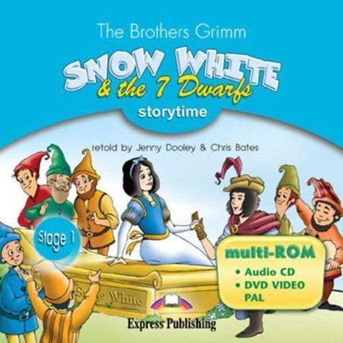 snow white & the seven dwarfs multi-rom