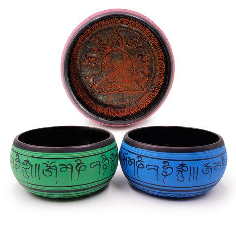 Чаша поющая Чистка ауры и биополя (Индия)