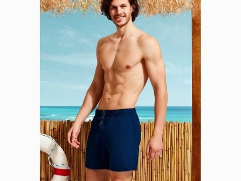 Мужские шорты-плавки темно-синие DOREANSE 3800