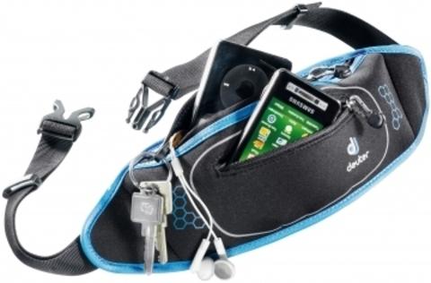 Картинка сумка для бега Deuter Neo Belt II black-coolblue