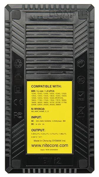 зарядное устройство NiteCore V2 intellicharge i2 цена интернет магазин