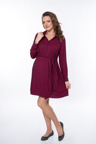 Платье для беременных 08966 красный