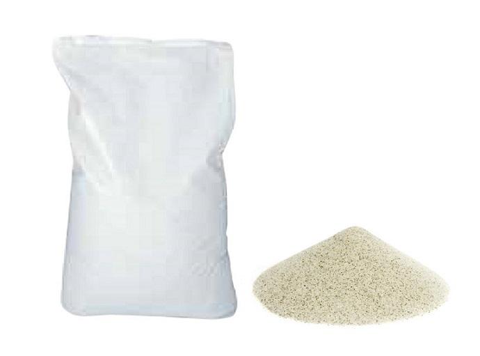 Песок кварцевый 0.5-1мм для фильтров бассейна (мешок 25кг)