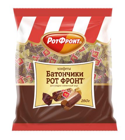 """Батончики """"Рот Фронт"""" шоколадно-сливочные 250г"""