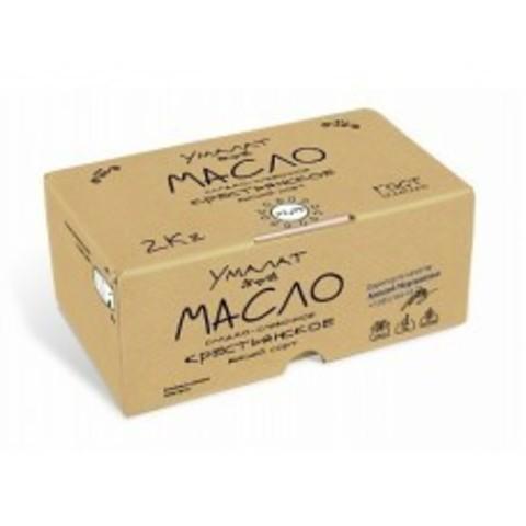 Масло Крестьянское Umalat 72,5%, 2 кг
