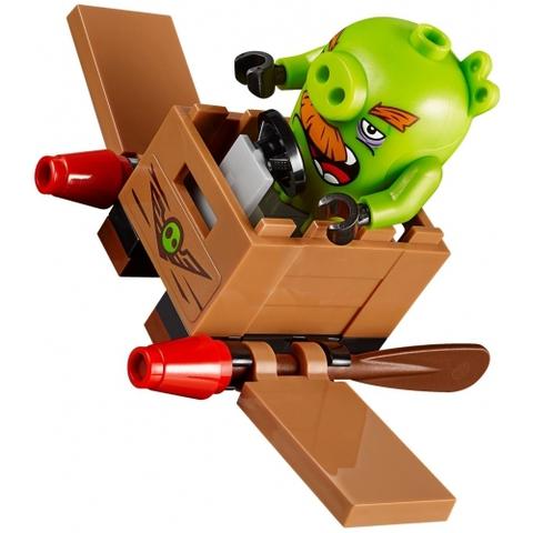 LEGO Angry Birds: Замок Короля свинок 75826 — King Pig's Castle — Лего Энгри Бердз Злые птицы