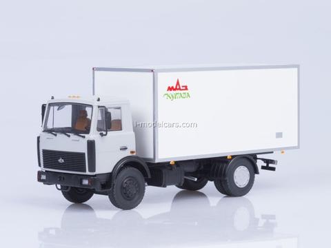 MAZ-5337 KI-5436 Isothermal Van AutoHistory 1:43