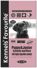 Корм для щенков Kennels' Favourite Puppy Salmon&Rice лосось и рис