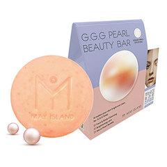May Island G.G.G Pearl Beauty Bar - Мыло для умывания осветляющее с жемчугом