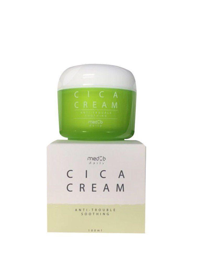 MED B Ежедневный крем для лица c азиатской центеллой Cica  Daily Cream Cica, 100 мл