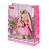 Подарочный пакет Зайка Ми Розовый бутон (средний)