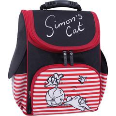 Рюкзак школьный каркасный Bagland Успех 12 л. Черный 374 (00551702)
