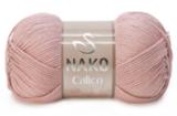 Пряжа Nako Calico пыльная роза 11220