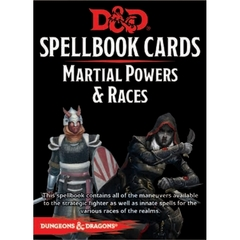 Spellbook Cards: Martial Power and Races Deck