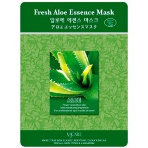 Листовая маска с алоэ Mijin Cosmetics Fresh Aloe Essence Mask