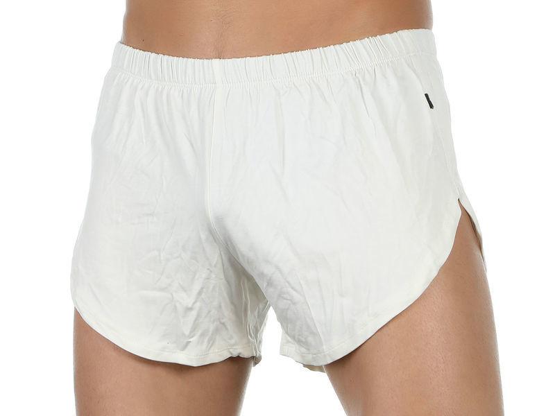 Мужские шорты белые Van Baam VB-39245